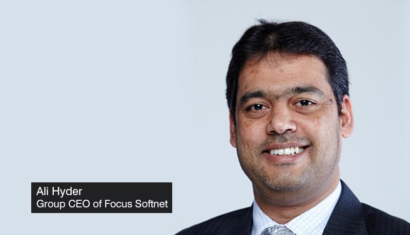 Ali-Hyder - Group-CEO - Focus Softnet - 25th anniversary - GITEX 2021 - Focus X - techxmedia
