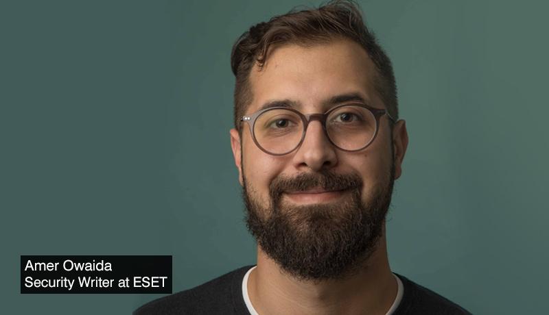 Amer Owaida - Security Writer - ESET - Ransomware - US companies - techxmedia