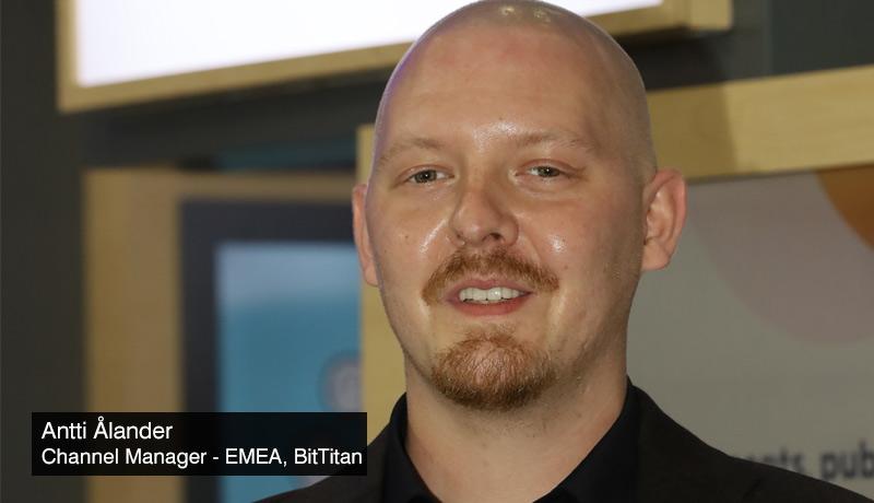 Antti-Ålander-Channel-Manager-EMEA-BitTitan -Cloud migration -techxmedia