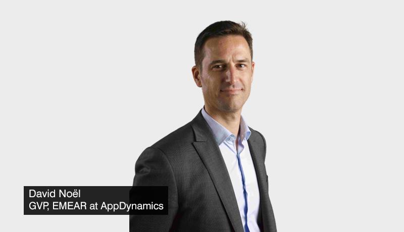 David-Noël-GVP-EMEAR-AppDynamics - digital transformation initiatives - ROI - techxmedia