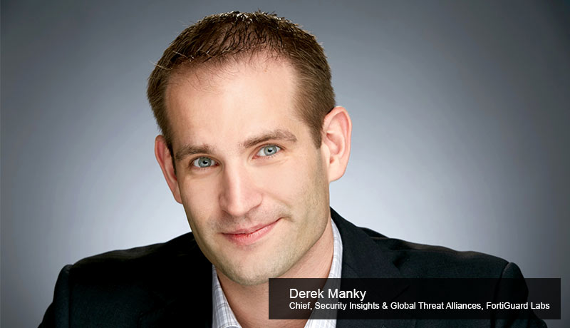 Derek Mank-Chief-Security-Insights- Global-Threat Alliances-Fortinet's FortiGuard Labs- Cybercrime - Ransomware - techxmedia