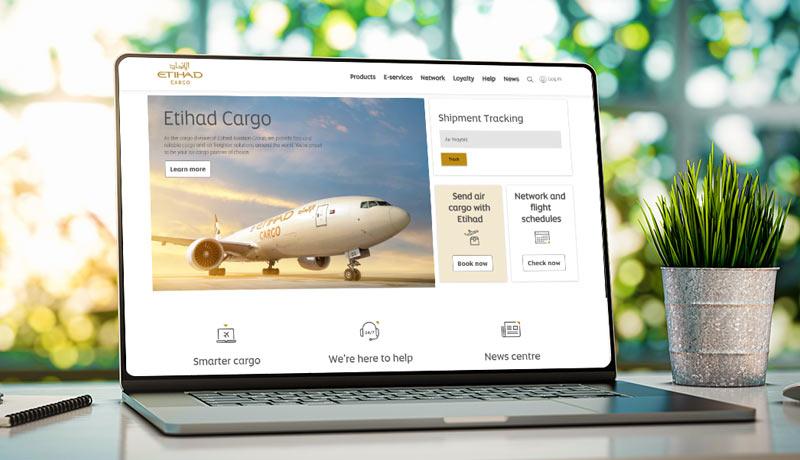 Etihad Cargo - online imprints -updated website - techxmedia