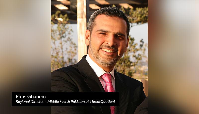 Firas-Ghanem-Regional-Director-Middle-East-Pakistan-ThreatQuotient - ThreatQ security solution - Gitex- techxmedia