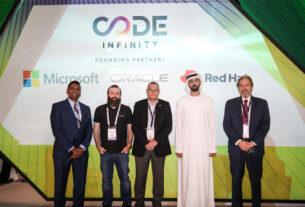 GITEX GLOBAL - Code Infinity initiative - developers - UAE National Program for Coders - techxmedia