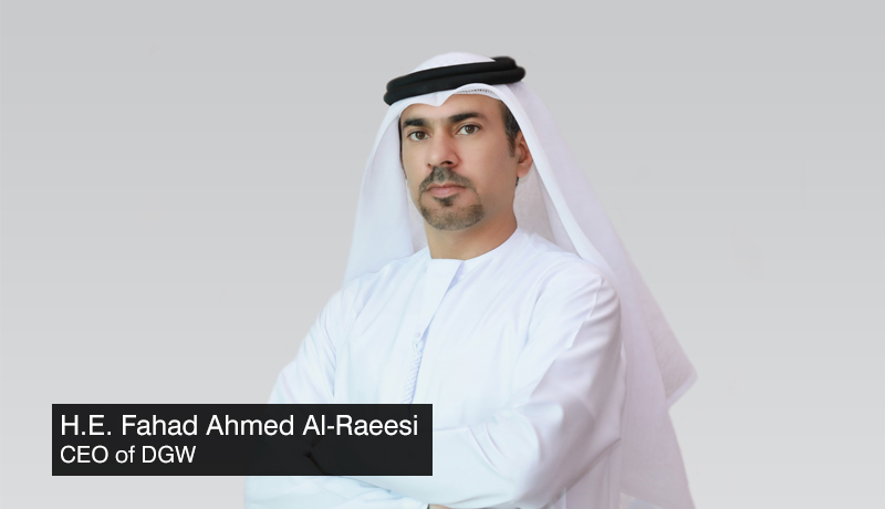 H.E.-Fahad-Ahmed-Al-Raeesi-CEO-DGW- Dubai Government workshop latest-services - Gietx - techxmedia-
