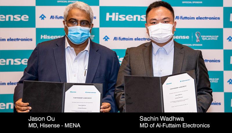 Hisense -Al-Futtaim Electronics -TV distribution - techxmedia