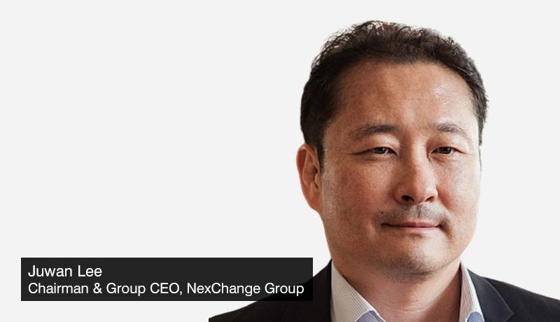 Juwan-Lee - Chairman - Group CEO - NexChange Group -Gulf Blockchain Week 2021 - blockchain apps -Dubai -techxmedia
