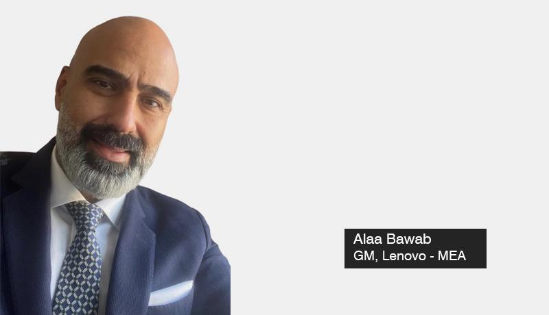 Lenovo - Alaa Bawab - GM - Middle East & Africa - TECHXMEDIA