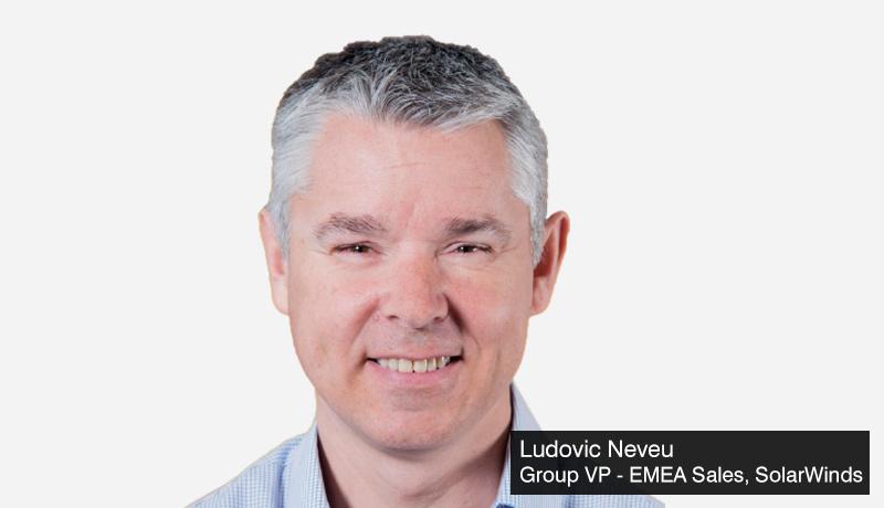 Ludovic-Neveu-group-VP-EMEA-Sales-SolarWinds-IT operations management solutions -Gitex -techxmedia
