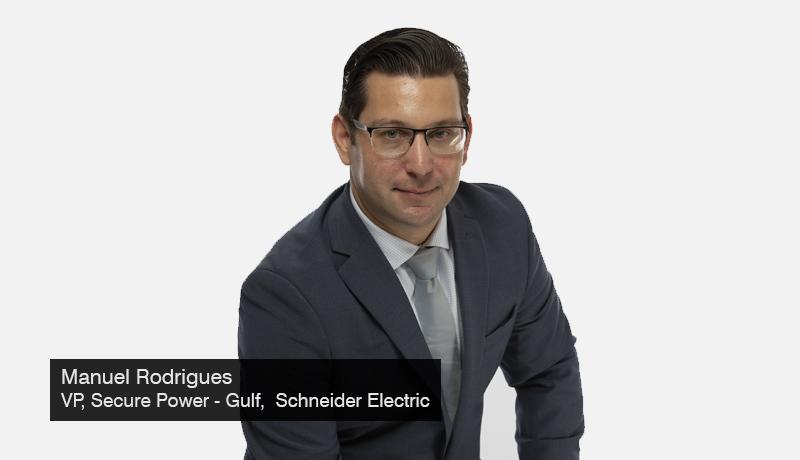 Manuel-Rodrigues -VP-Secure Power - Gulf-Schneider Electric -Pre-GITEX Interview -techxmedia