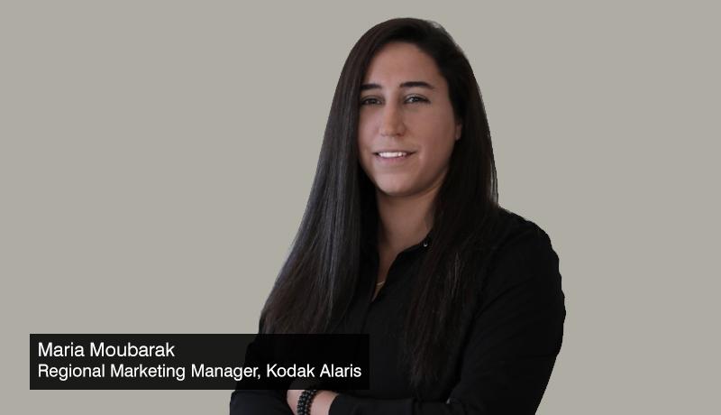 Maria Moubarak - Regional Marketing Manager -Kodak Alaris - scanners - Digital Transformation - techxmedia