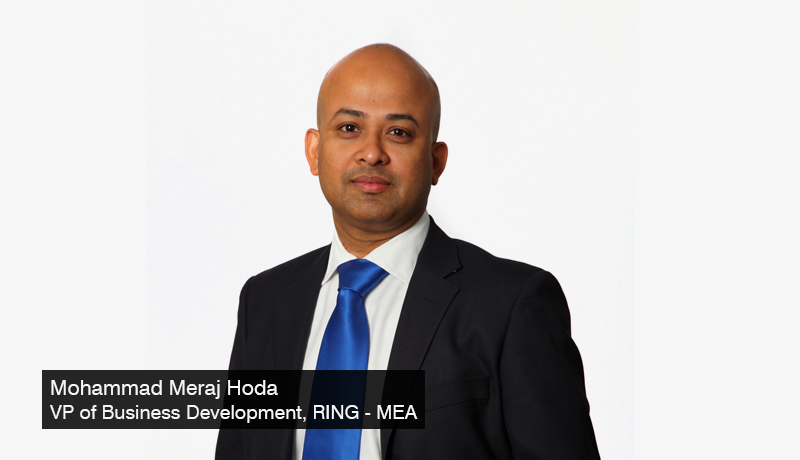 Meraj Hoda - Vice President of Business Development – Middle East and Africa - Ring - home security products - GITEX - techxmedia