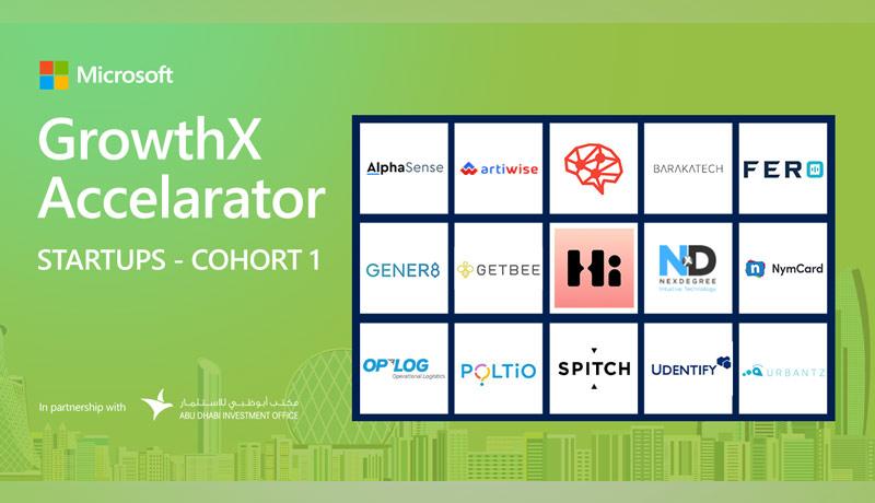 Microsoft - GrowthX Accelerator program - UAE - techxmedia