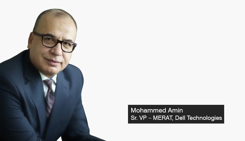 Mohammed Amin - Sr. Vice-President – MERAT- Dell Technologies - digital transformation - GITEX - techxmedia