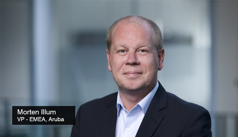 Morten Illum-Vice President-EMEA- Aruba -Survey-security threats -Generation Novel - techxmedia