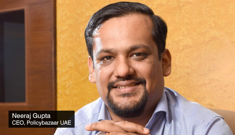 Neeraj-Gupta-CEO-Policybazaar-UAE - real-time eligibility-Credit-score- checks-AECB-techxmedia