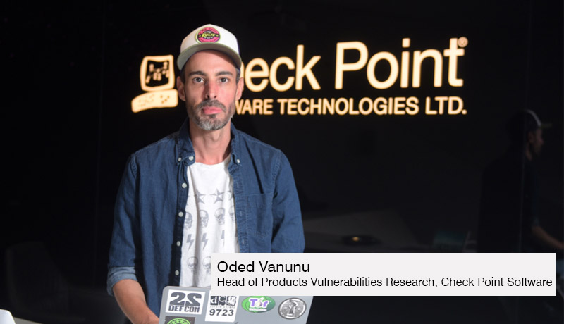 Oded Vanunu -Head- Products Vulnerabilities Research - Check Point Software - security flaws - theft in OpenSea -techxmedia