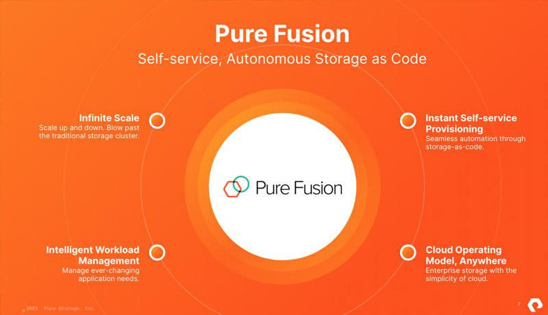 Pure Storage - Pure Fusion - autonomous storage platform - techxmedia
