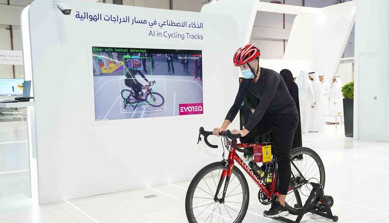 RTA - EVOTEQ - using AI in Cycling Tracks - GITEX - techxmedia