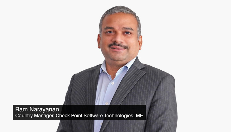 Ram-Narayanan,-Country-Manager-Check-Point-Software-Technologies-Middle-East - protecting-against cyber threat - common mistakes - techxmedia