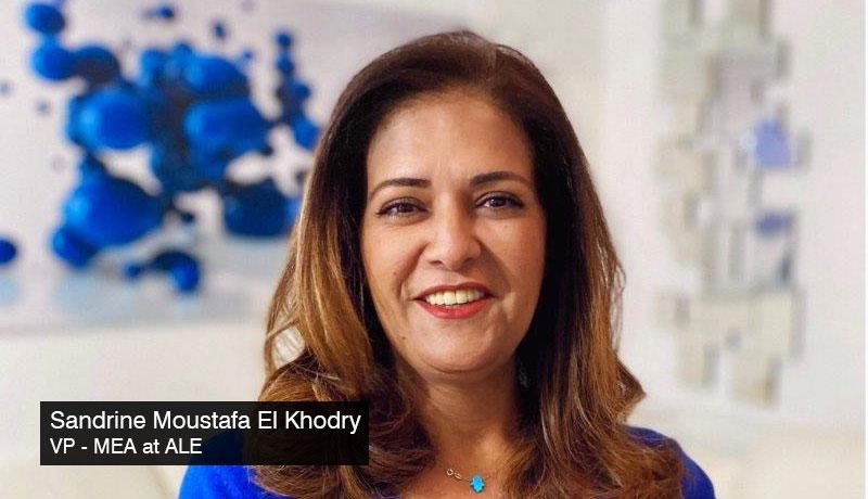 Sandrine-Moustafa-El-Khodry-VP-MEA-ALE - network -communication -France Monaco pavilions - Alcatel-Lucent -techxmedia