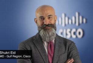 Shukri-Eid-MD-Gulf-Region-Cisco -four major technology -trends - 2022 - techxmedia