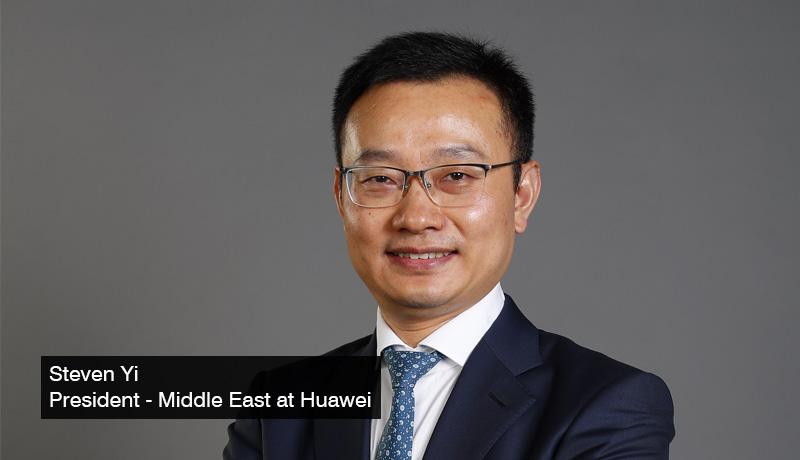 Steven-Yi-President - Huawei -ME - Arab Innovation Day 2021 - Dubai - techxmedia
