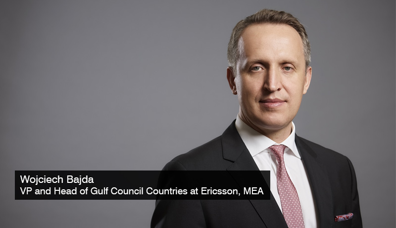 Wojciech-Bajda-VP-head-of-Gulf Council Countries-Ericsson -MEA-next-gen innovations- sustainability -Expo 2020 - techxmedia