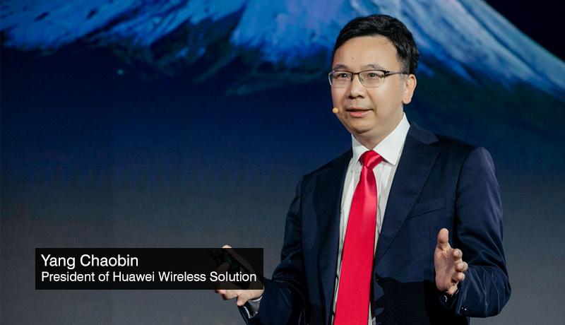Yang-Chaobin-President-Huawei-Wireless-Solution - 5Gigaverse society - techxmedia
