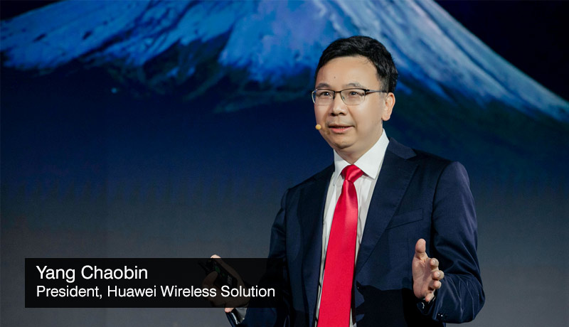 Yang-Chaobin-President-Huawei-Wireless-Solution - vision for 5Gigaverse society - techxmedia